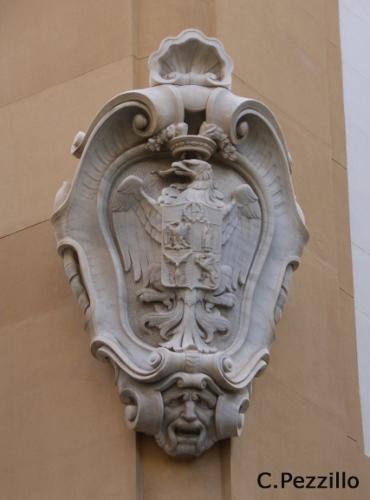 Aquila del Palazzo Comitini (Palazzo della Provincia)